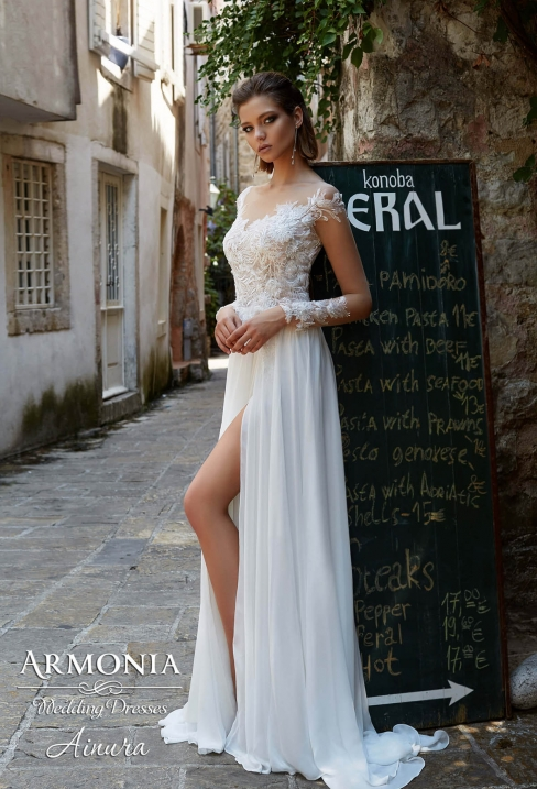 147173f6bef2ba Весільні сукні у Вінниці, купити весільне плаття в салоні Медовий місяць