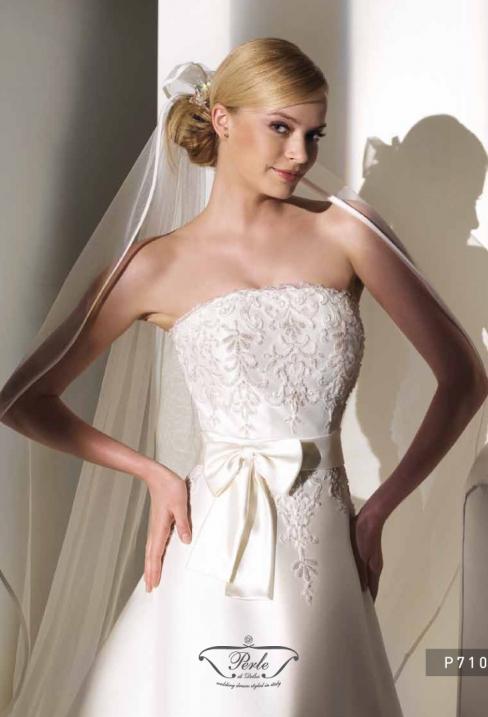 Оригинальное двухслойное платье p7104